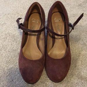 Cute Burgundy Heels